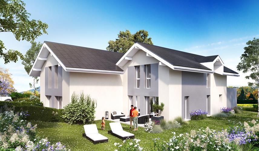 Les villas de l'Aurore La Roche-sur-Foron 4807-promotion